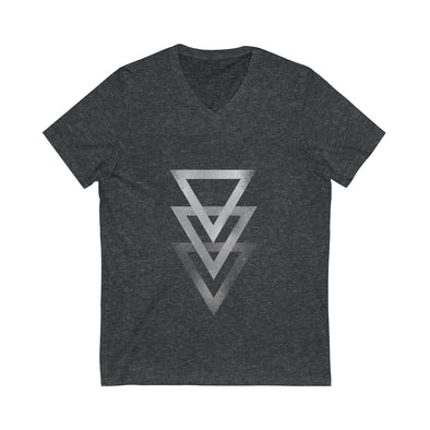 Triangles V-Neck Tee