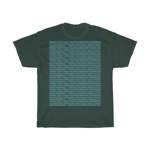 Number Pattern T Shirt