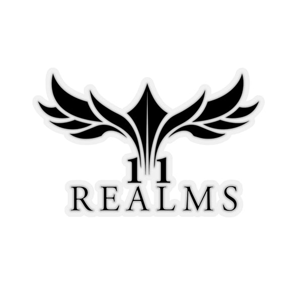 11 Realms logo sticker