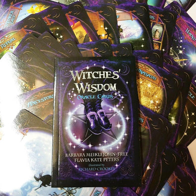 Witches Wisdom Oracle Tarot