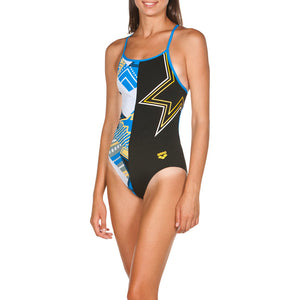 ARENA Woman One Piece LIGHTSHOW ACCELERATE BACK 001609