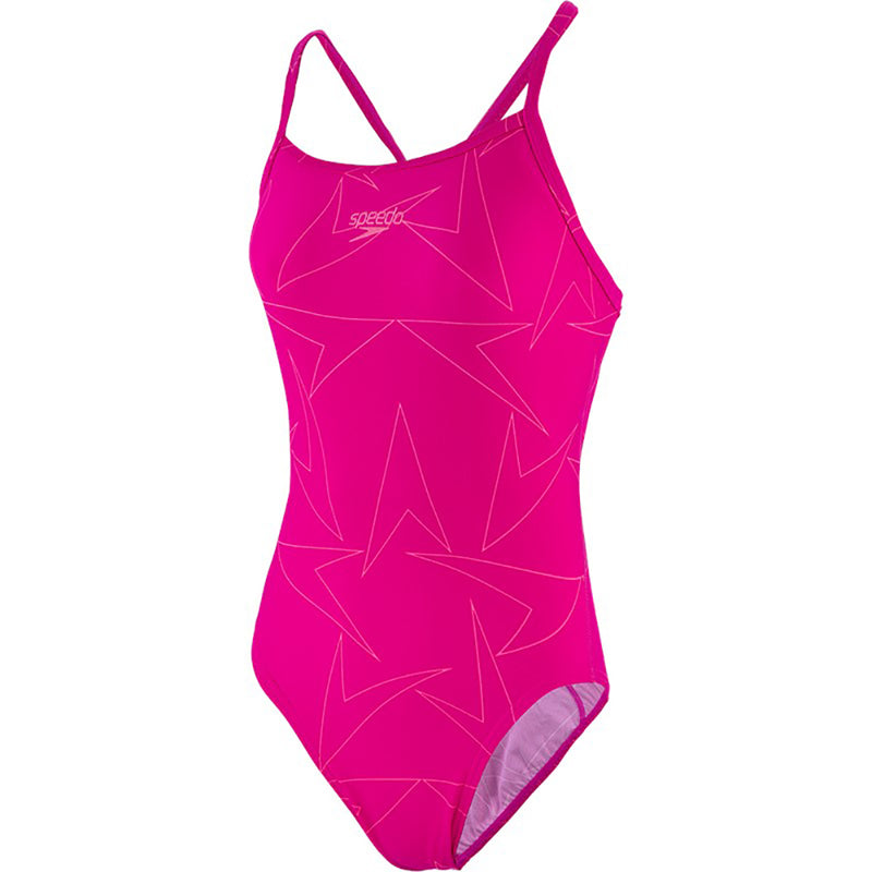 SPEEDO Woman One Piece BOOMSTAR ALLOVER TURNBACK 12311