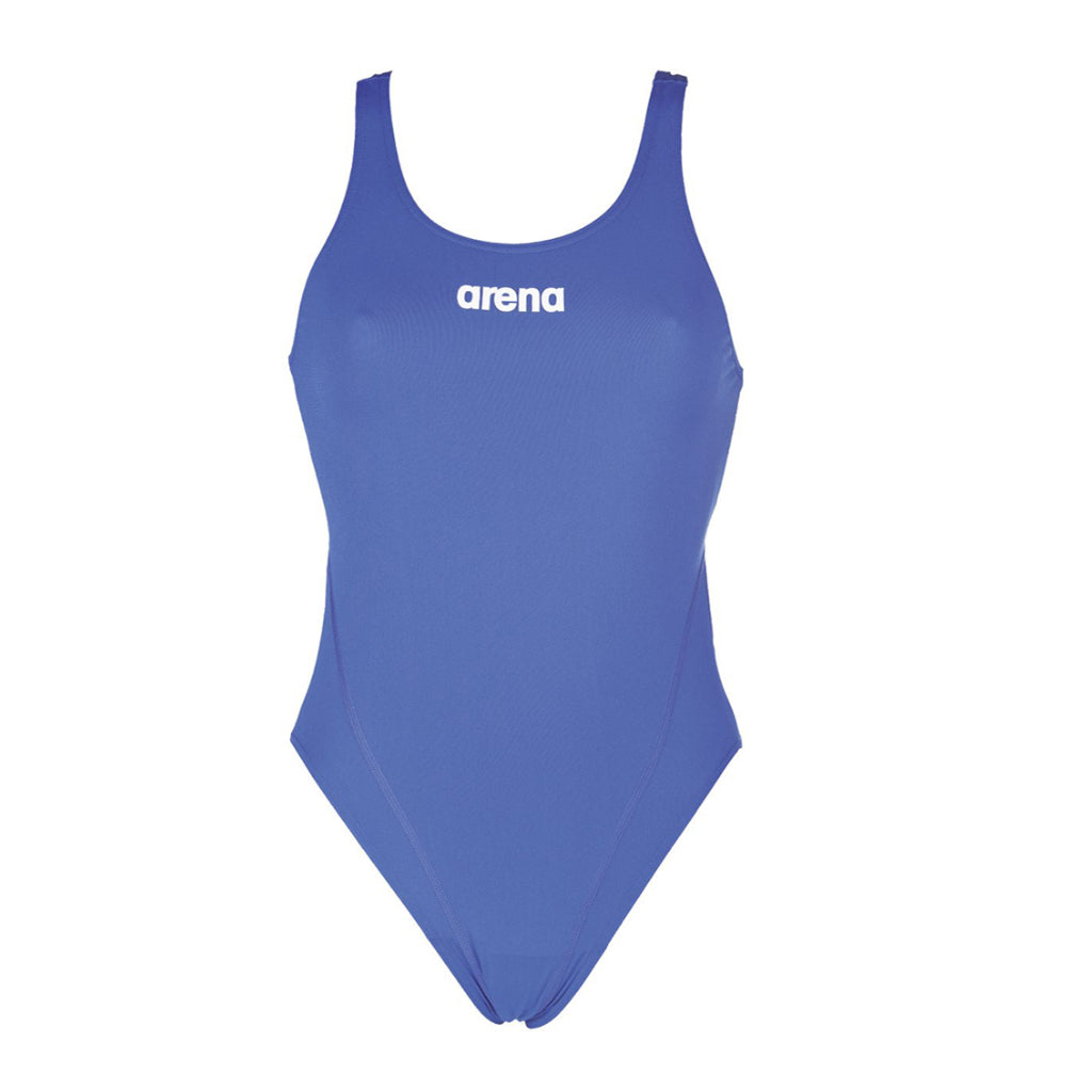 ARENA Woman One Piece SOLID SWIM TECH HIGH 2A241