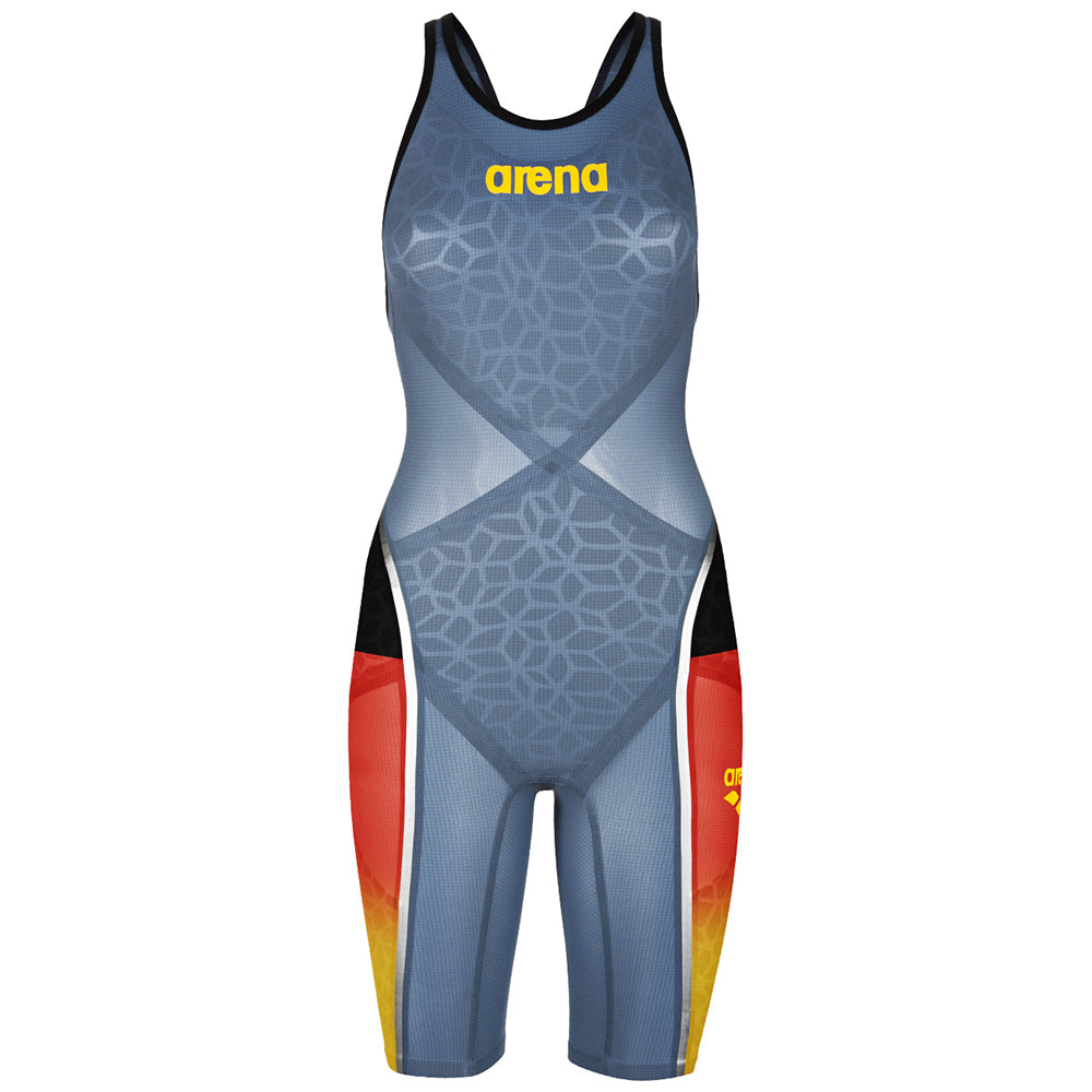 ARENA Woman Open Back Competition CARBON ULTRA NATIONAL COLOR 2A312E