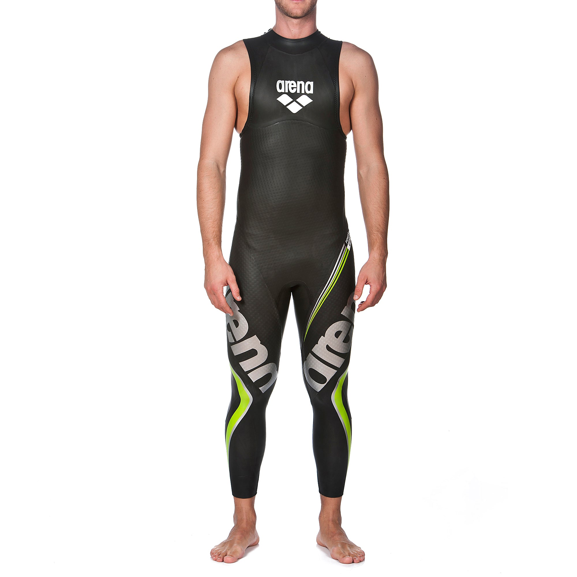 ARENA MAN TRIWETSUIT CARBON SLEEVELESS 2A944