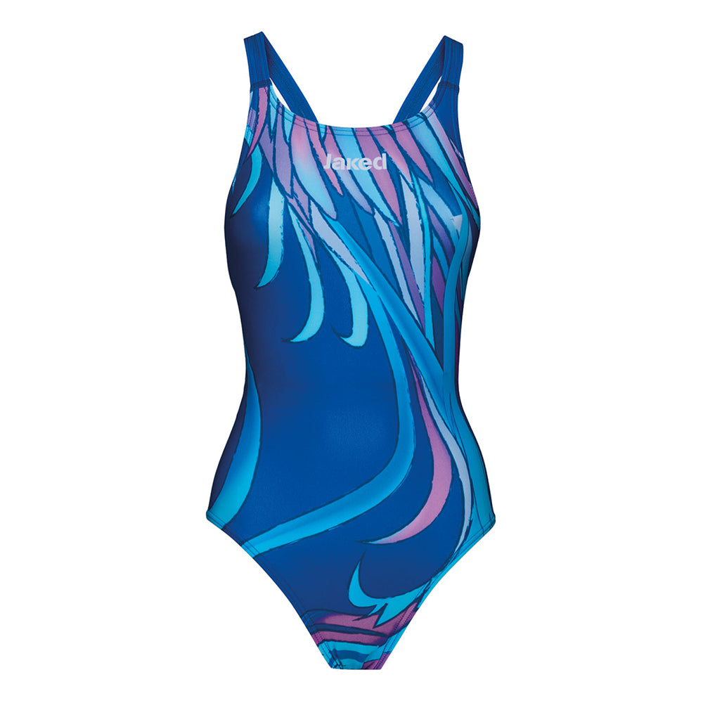 JAKED Woman One Piece PLUMES JCOLD10009