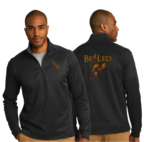 ADULT BE LED 1/4 ZIP PULLOVER