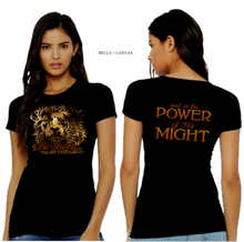 Load image into Gallery viewer, LADIES BE STRONG IN the LORD TEE
