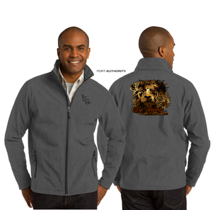 ADULT BE STRONG SOFT SHELL JACKET