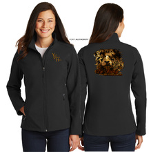 Load image into Gallery viewer, LADIES BE STRONG SOFT SHELL JACKET