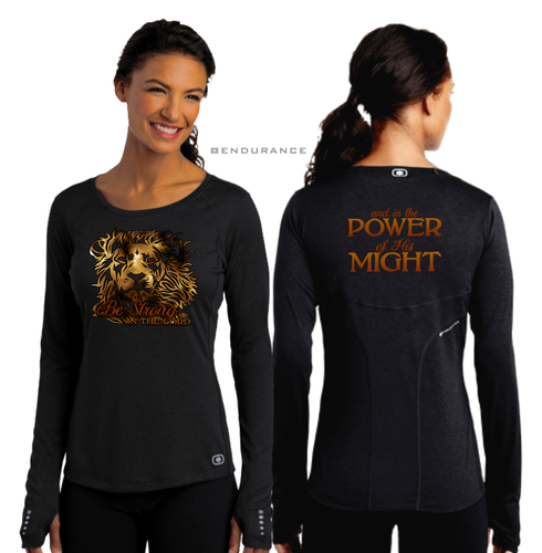 LADIES BE STRONG LONG SLEEVE TEE