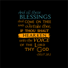Load image into Gallery viewer, MENS The BLESSING TEE