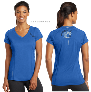 LADIES The BLESSING OGIO VNECK TEE