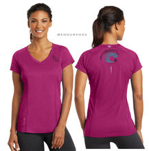 Load image into Gallery viewer, LADIES The BLESSING OGIO VNECK TEE