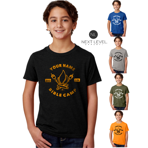 KIDS & ADULT CAMP FIRE TEE