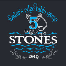 Load image into Gallery viewer, KIDS & ADULT CAMP FIVE STONES TEE
