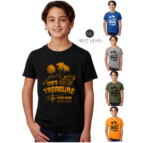KIDS & ADULT CAMP TREASURE TEE