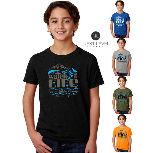 KIDS & ADULT CAMP WATER OF LIFE TEE