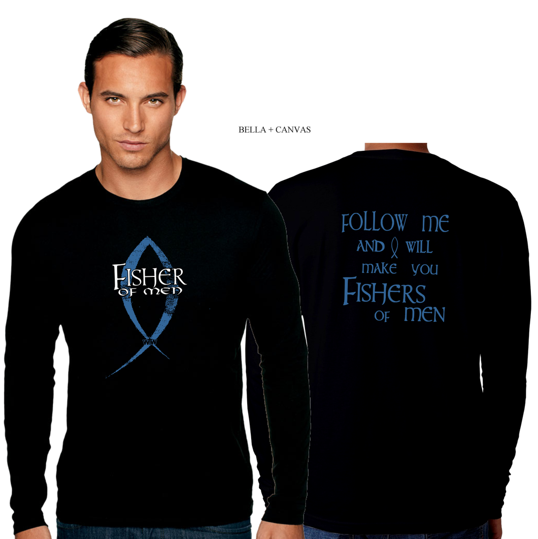 ADULT FISHER OF MEN LONG SLEEVE TEE