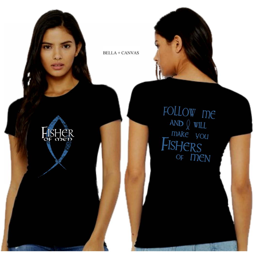 LADIES FISHER of MEN TEE