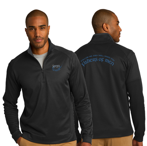 ADULT FISHER OF MEN 1/4 ZIP PULLOVER