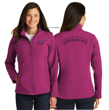 Load image into Gallery viewer, LADIES FISHER OF MEN SOFT SHELL JACKET