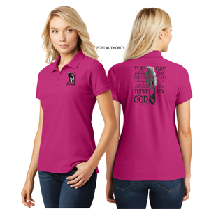 LADIES GIANTSLAYER PIQUE POLO