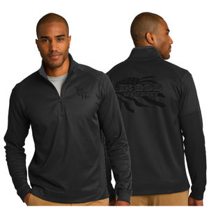 ADULT IN GOD WE TRUST 1/4 ZIP PULLOVER