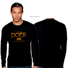 Load image into Gallery viewer, ADULT I'M A DOER LONG SLEEVE TEE