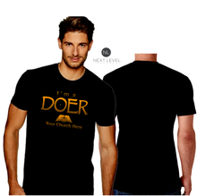 Load image into Gallery viewer, MENS I'M A DOER TEE