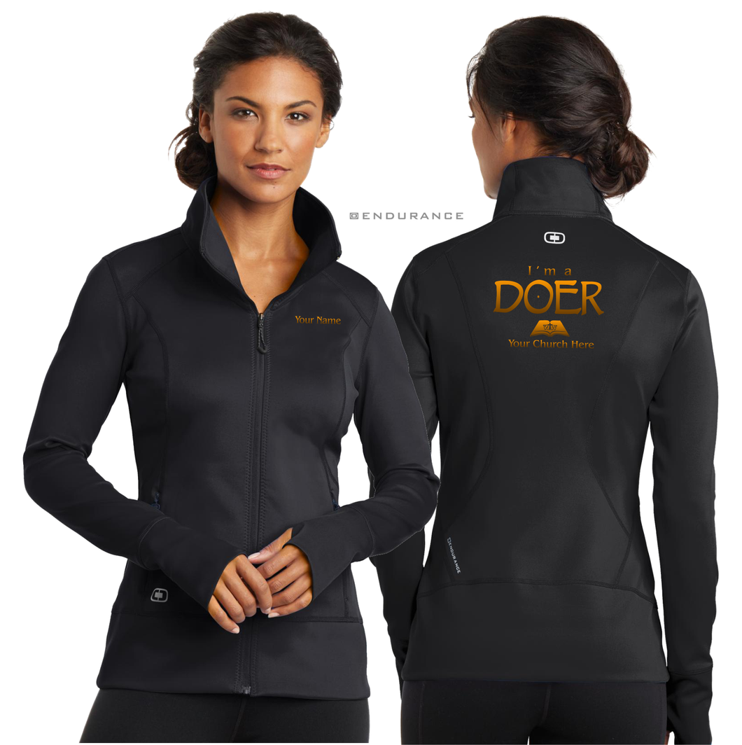 LADIES I'M A DOER OGIO FULCRUM JACKET