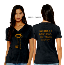 Load image into Gallery viewer, LADIES KEYS TO the KINGDOM VNECK TEE