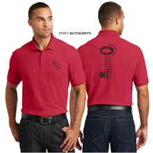 Load image into Gallery viewer, ADULT KEYS TO the KINGDOM PIQUE POLO