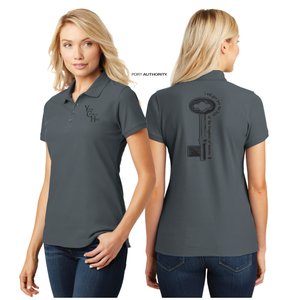LADIES KEYS TO the KINGDOM PIQUE POLO