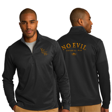 Load image into Gallery viewer, ADULT NO EVIL 1/4 ZIP PULLOVER