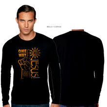Load image into Gallery viewer, ADULT ONE WAY JESUS LONG SLEEVE TEE