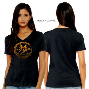 LADIES RUN VNECK TEE