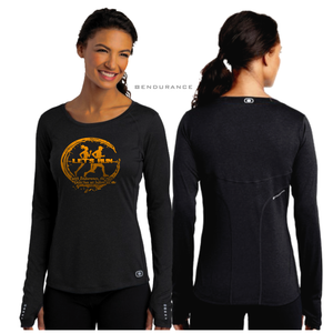 LADIES RUN OGIO LONG SLEEVE TEE