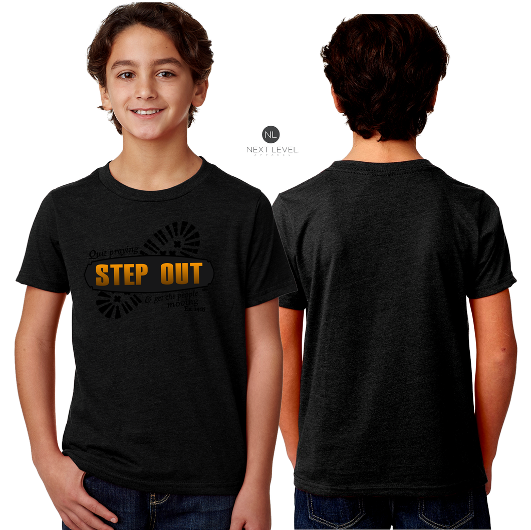 KIDS STEP OUT TEE