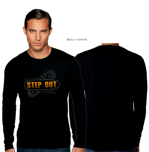 ADULT STEP OUT LONG SLEEVE TEE