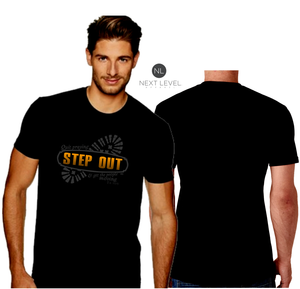 MENS STEP OUT TEE