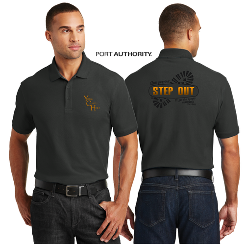 ADULT STEP OUT PIQUE POLO
