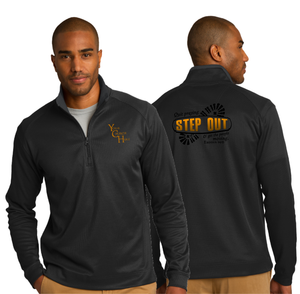 ADULT STEP OUT 1/4 ZIP PULLOVER