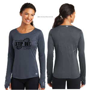 LADIES STEP OUT OGIO LONG SLEEVE TEE