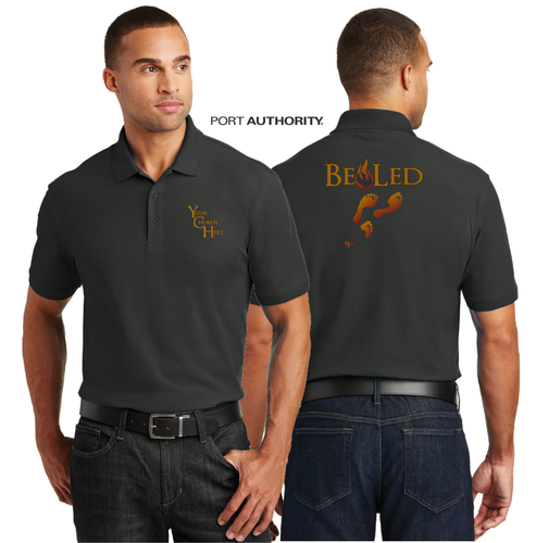 ADULT BE LED PIQUE POLO