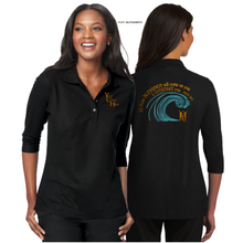 Load image into Gallery viewer, LADIES The BLESSING 3/4 SLEEVE SILK TOUCH POLO