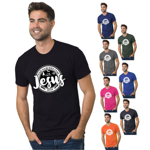 KIDS & ADULT CAMP JESUS TEE