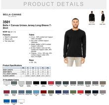 Load image into Gallery viewer, ADULT BE LED LONG SLEEVE TEE