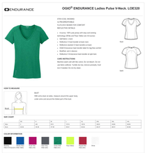 Load image into Gallery viewer, LADIES FISHER OF MEN OGIO VNECK TEE