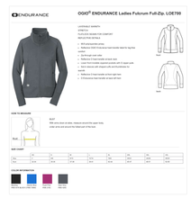 Load image into Gallery viewer, LADIES BE STRONG OGIO FULCRUM JACKET